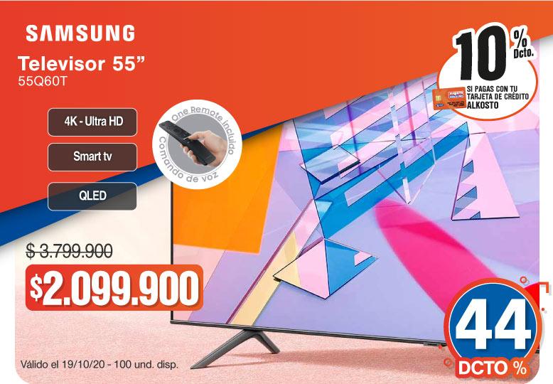 OFERTA TELEVISOR SAMSUNG QLED 55Q60T