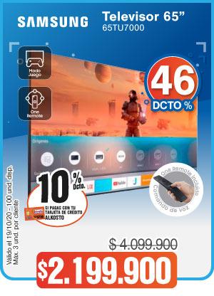 OFERTA TELEVISOR SAMSUNG 65TU7000